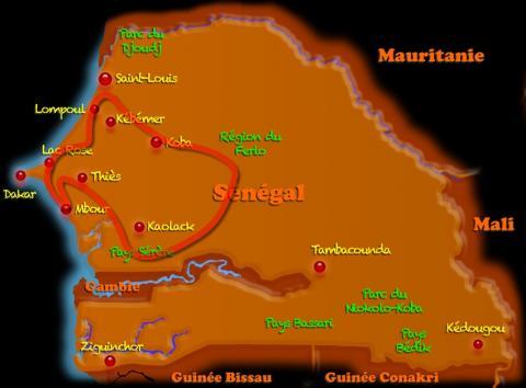Au Coeur du Sénégal (4x4 - 4j)