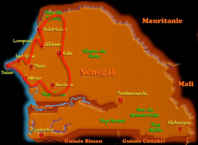 De Saint-Louis au Siné-Saloum (8j)